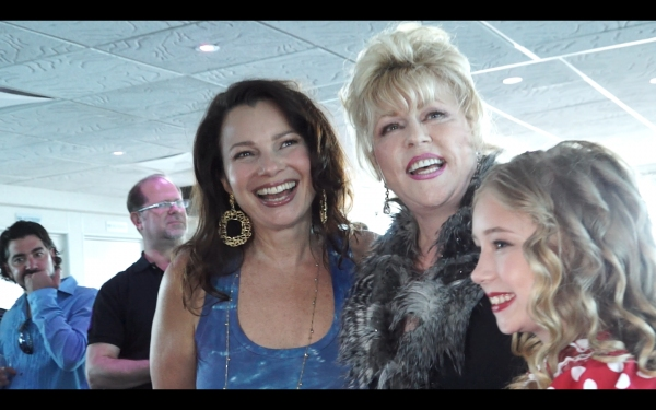 Fran Drescher, Rita McKenzie, Tori Murray
