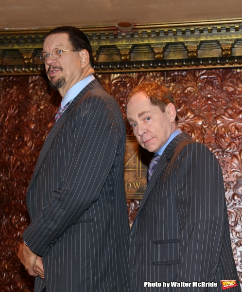 Photo Coverage: Sneak Peek of PENN & TELLER ON BROADWAY!