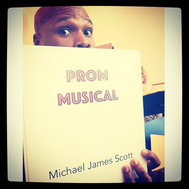 SOMETHING ROTTEN!'s Michael James Scott Re-Teams With Casey Nicholaw & Teases New PROM MUSICAL Workshop