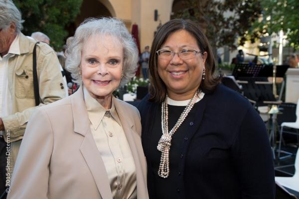 June Lockhart with California State Controller Betty Yee. Photo