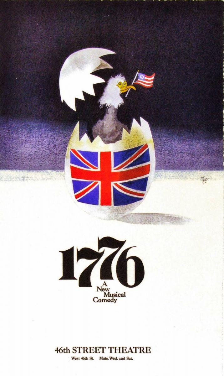 FLASH FRIDAY: USA, USA! HAMILTON, 1776 & Many More Patriotic Musicals
