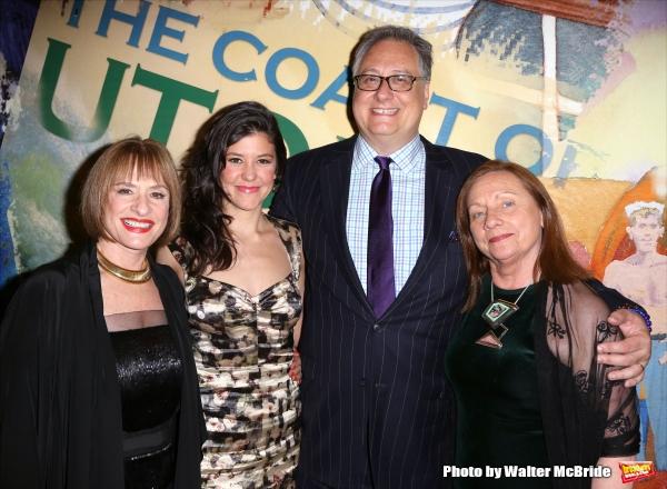 Patti LuPone, Zoe Winters, Douglas Carter Beane and Dale Soules Photo