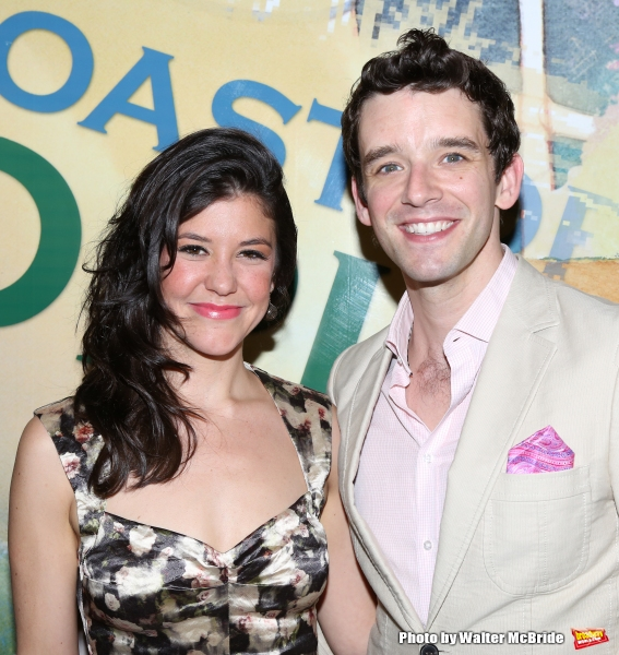 Zoe Winters and Michael Urie