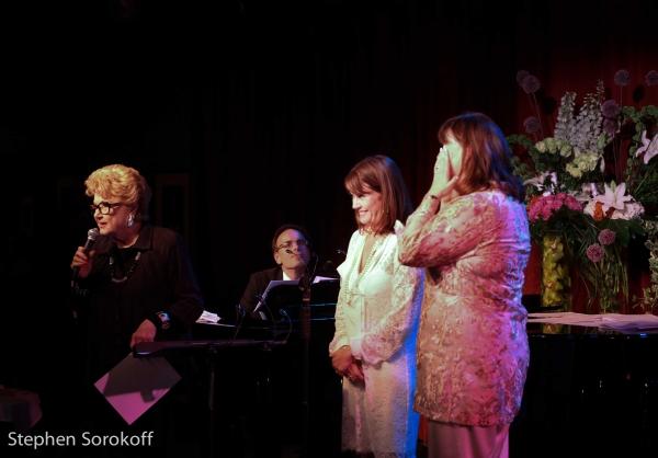 Photo Coverage:  Ann Hampton Callaway & Kari Strand Celebrate Their Marriage at Birdland