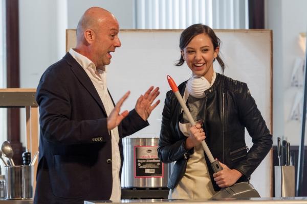 Yasen Peyankov and Brittany Uomoleale