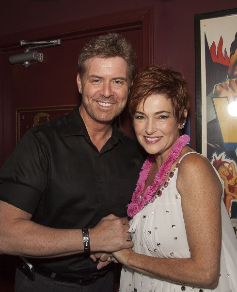 Q&A host B. Harlan Boll and fan favorite, Carolyn Hennesy