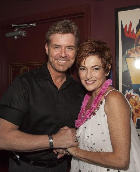 Q&A host B. Harlan Boll and fan favorite, Carolyn Hennesy