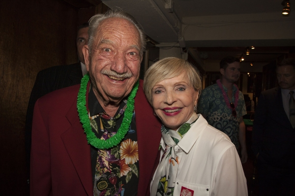 Magic Castle Founder, Milt Larsen, with TV/Stage icon, Florence Henderson