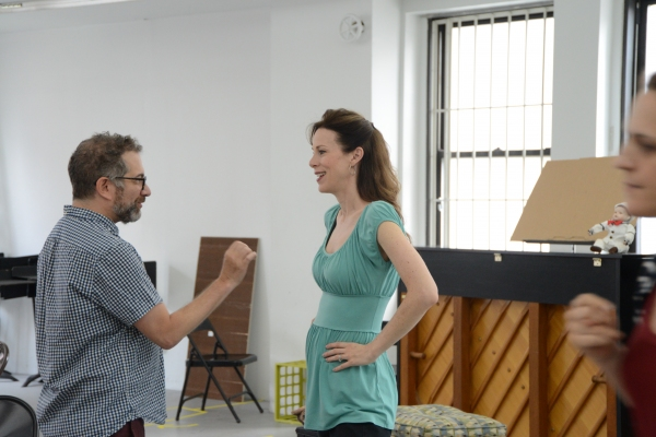 Photo Flash: In Rehearsal with Keir Dullea and Mia Dillon for ON GOLDEN POND at Bucks County Playhouse