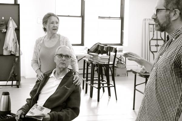 Mia Dillon, Kier Dullea and Jonathan Silverstein