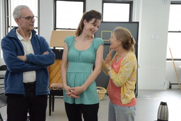 Kier Dullea, Christa Scott-Reed and Mia Dillon