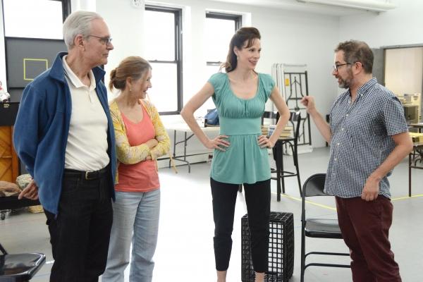 Keir Dullea, Mia Dillon, Christa Scott-Reed and Jonathan Silverstein Photo