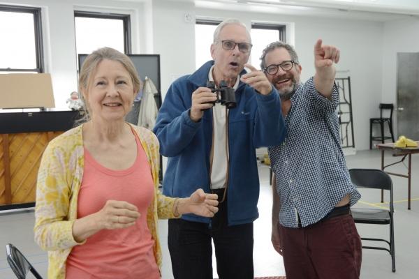 Mia Dillon, Keir Dullea and Jonathan Silverstein