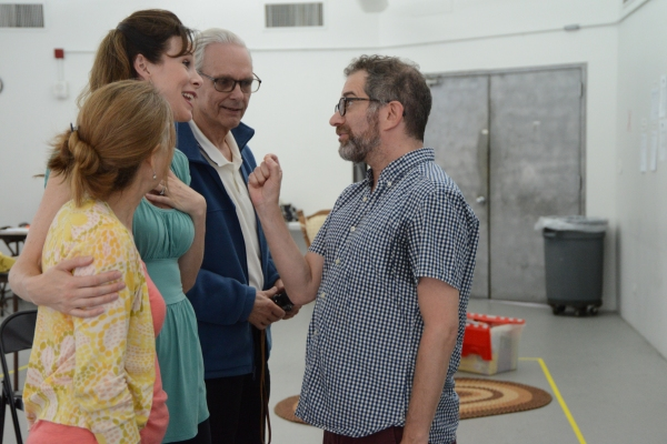 Mia Dillon, Christa Scott-Reed, Keir Dullea and Jonathan Silverstein