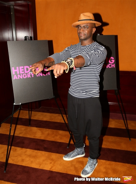 Photo Coverage: There's a New Hedwig in Town! Taye Diggs Preps for His Return to Broadway!