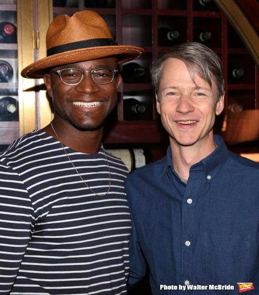 Taye Diggs and John Cameron Mitchell