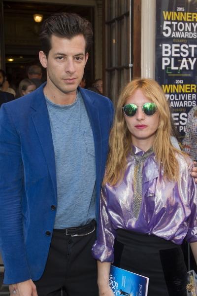 Mark Ronson and Josephine de La Baume Photo