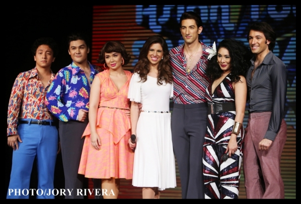 Jim Ferrer, Bibo Reyes, Mikkie Bradshaw, Jenna Rubaii, Brandon Rubendall, Carla Gueva Photo