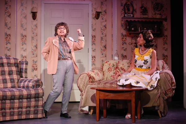 Andrea McCullough as Miss Thorn and KIM MARESCA as Judy Denmark Photo