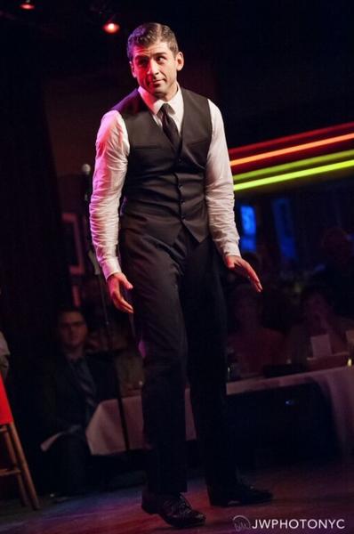 Photo Flash: Tony Nominee Tony Yazbeck Plays Birdland