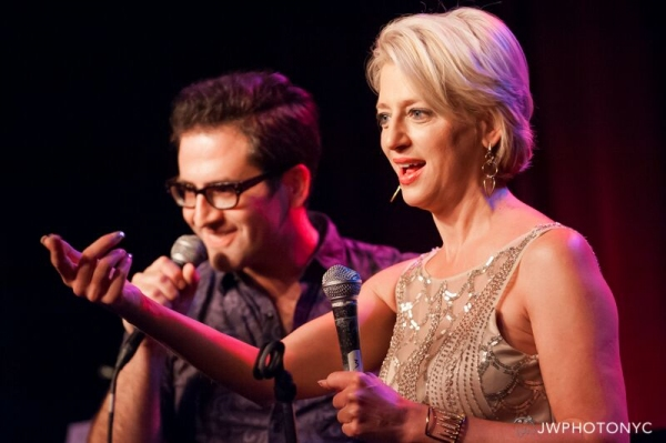 Ben Rimalower and Dorinda Medley