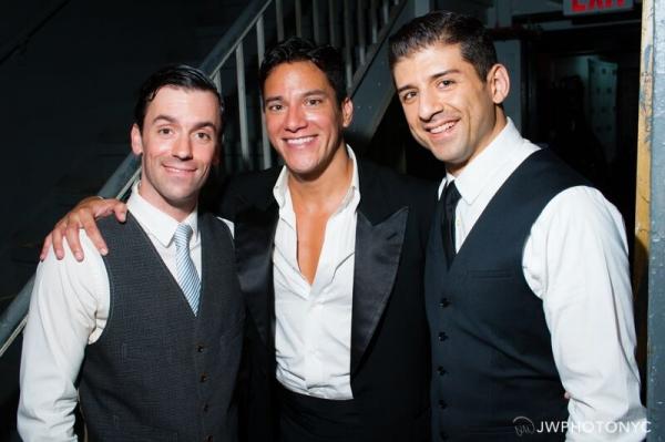 Clyde Alves, Nicholas Rodriguez and Tony Yazbeck