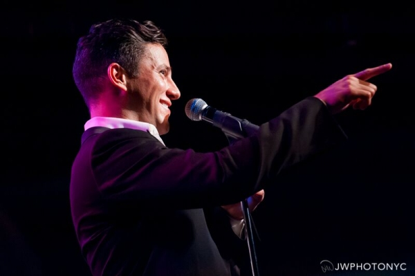Photos: Nicholas Rodriguez Brings THE FIRST TIME to Birdland