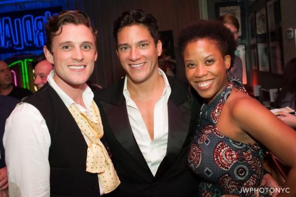 Oliver Thornton, Nicholas Rodriguez and Eleasha Gamble Photo