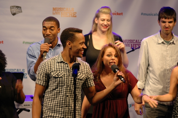 Photo Flash: Sneak Peek at ACAPPELLA, Coming to NYMF This Month