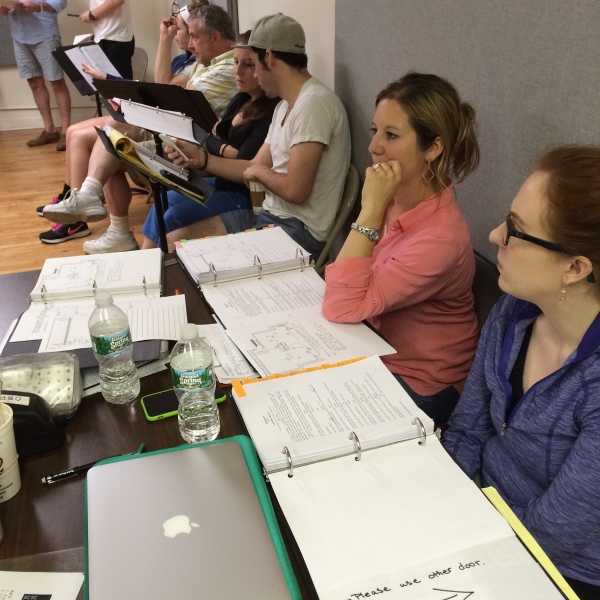 Photo Flash: In Rehearsal with NYMF Opener MOSES MAN