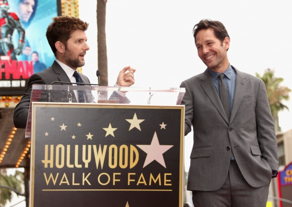 Adam Scott, Paul Rudd