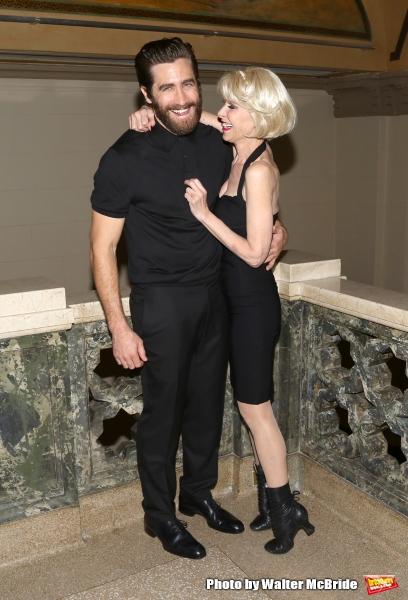 Jake Gyllenhaal and Ellen Greene