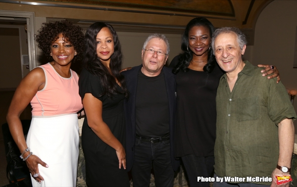 Tracy Nicole Chapman, Marva Hicks, Alan Menken, Ramona Keller and Joe Grifasi
