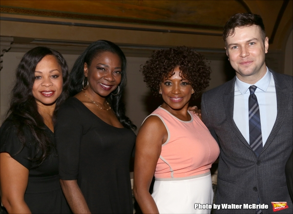 Marva Hicks, Ramona Keller, Tracy Nicole Chapman and Taran Killam
