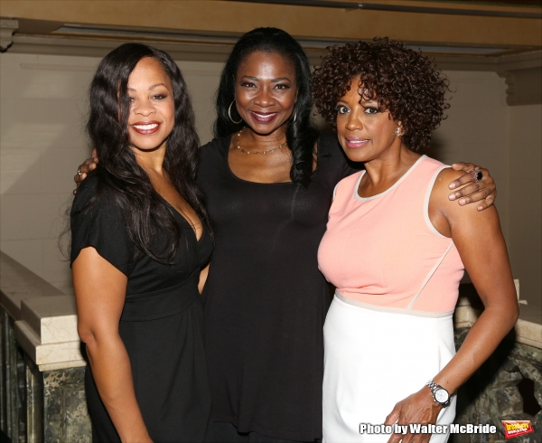 Marva Hicks, Ramona Keller and Tracy Nicole Chapman