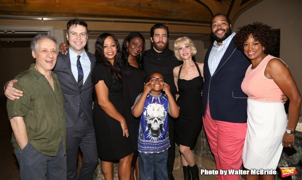 Photo Coverage: Encores! LITTLE SHOP OF HORRORS Company Celebrates Opening Night