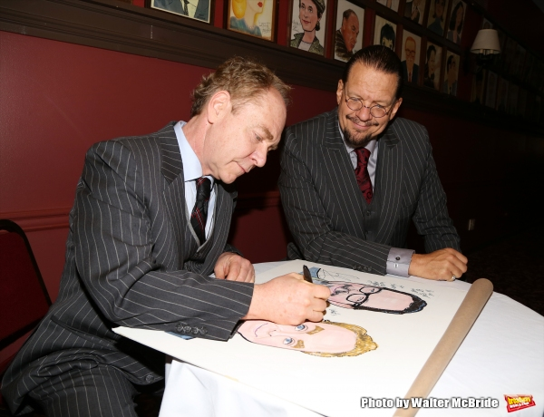 Teller and Penn Jillette