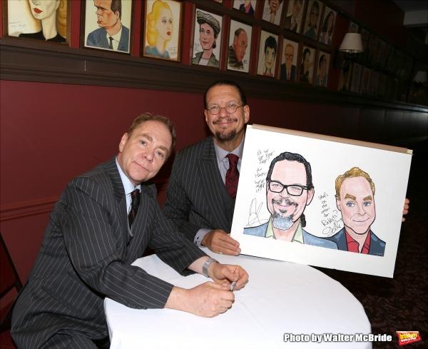 Photo Coverage: Sardi's Unveils Caricatures for Penn & Teller!