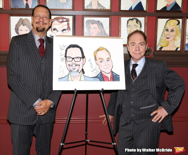 Penn Jillette and Teller