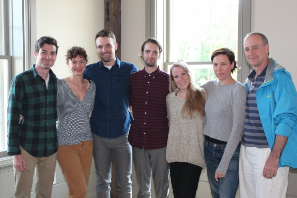 The cast of The Harvest - Cameron Scoggins; Elvy Yost; Micah Stock; Jacob Perkins; Emma Myles; Rebecca Henderson; Michael Countryman