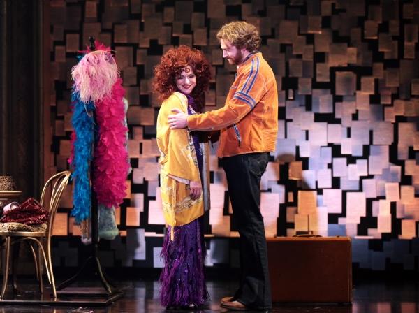 Shoshana Bean (Cee Cee Bloom) and Travis Taylor (John) Photo