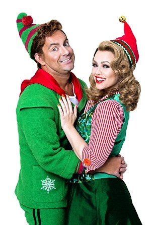 Ben Forster and Kimberley Walsh