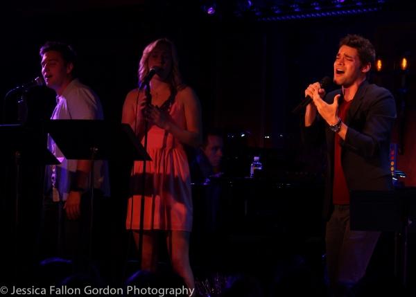 Josh Tolle, Ginna Le Vine and Jeremy Jordan