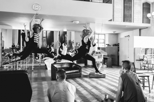 Photo Flash: First Look at Aaron Sidwell, Lucas Rush, Amelia Lily and More in Rehearsals for UK's AMERICAN IDIOT