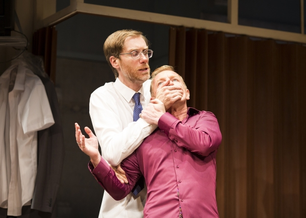 Stephen Merchant as Ted and Steffan Rhodri as Morrie
