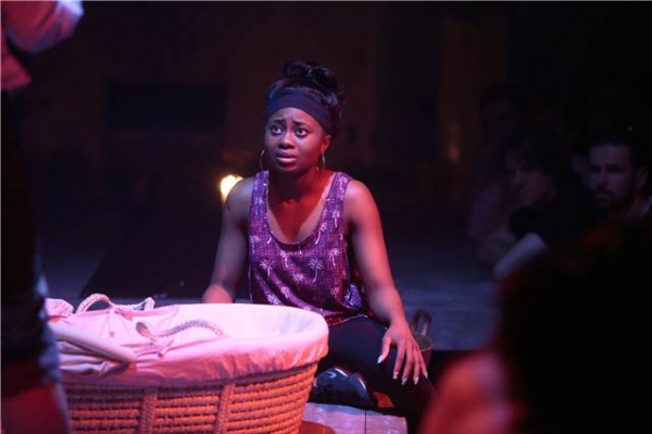 Photo Flash: First Look at Maxine Peake and More in THE SKRIKER at Manchester International Festival