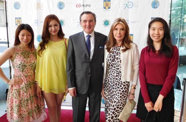 Karen Tang, Jiayi Yuan, Bill Sclight, Cheri Kaufman and Xiao Xu Edu