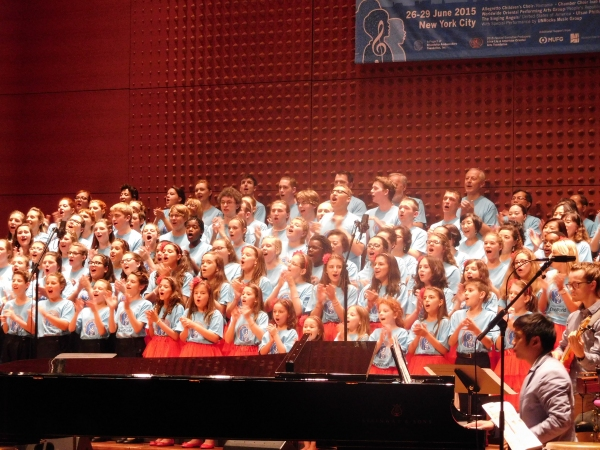 Photo Flash: The Rhythms of One World 2015 Choral Festival Comes to a Close at Alice Tully Hall