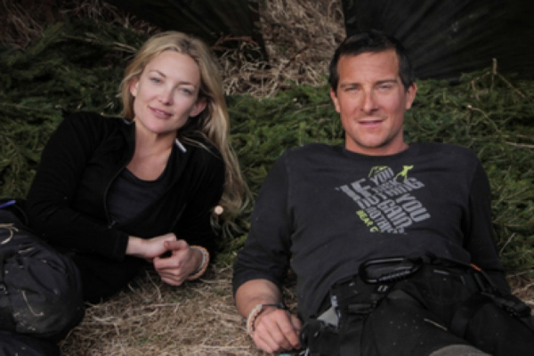 Kate Hudson, Bear Grylls