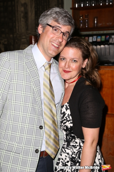 Mo Rocca and Jennifer Simard